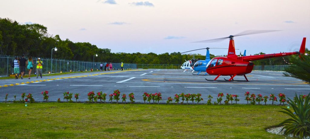 Helicopter Tour punta cana